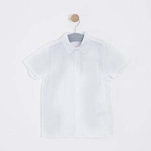 Erkek Çocuk Gömlek Beyaz (3-12 yaş)