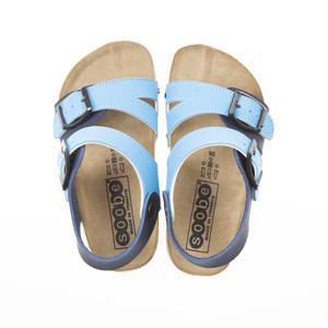Erkek Çocuk Çift Bantlı Sandalet Lacivert (24-33 numara)