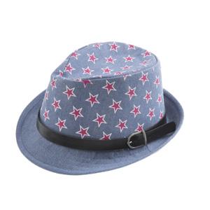 Erkek Çocuk Hasır Şapka Petrol (3-8 yaş)