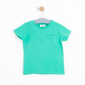 Erkek Çocuk Kısa Kol Tişört Yeşil (3-12 yaş)