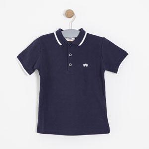 Erkek Çocuk Tişört Lacivert (3-12 yaş)