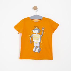 Erkek Çocuk Kısa Kol Tişört Turuncu (3-7 yaş)