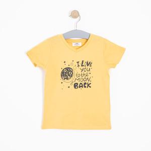 Erkek Çocuk Tişört Sarı (3-12 yaş)
