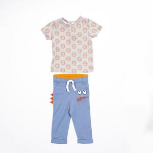 Erkek Bebek Örme Set İndigo (56 cm-2 yaş)