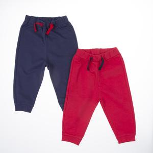 Erkek Bebek Eşofman Altı Kırmızı (56 cm-2 yaş)
