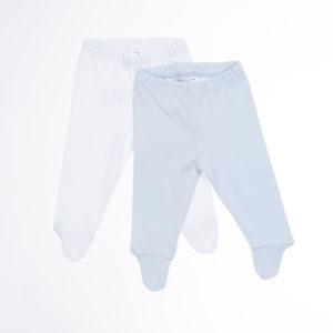 Erkek Bebek İkili Eşofman Altı Beyaz (56 cm-2 yaş)