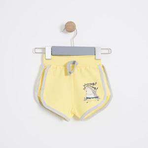 Erkek Bebek Şort Sarı (56 cm-2 yaş)
