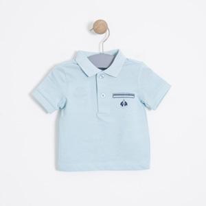 Erkek Bebek Tişört Mavi (56 cm-2 yaş)