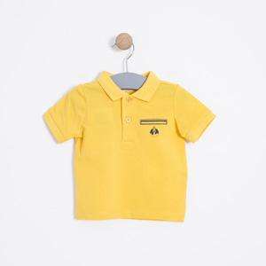 Erkek Bebek Tişört Sarı (56 cm-2 yaş)