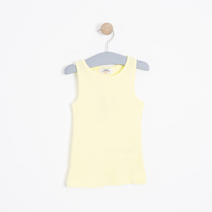 Kız Çocuk Atlet Sarı (3-12 yaş)