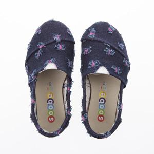 Kız Çocuk Keten Ayakkabı Pembe (21-30 numara)