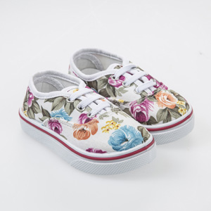 Kız Çocuk Keten Ayakkabı Beyaz (22-29 numara)