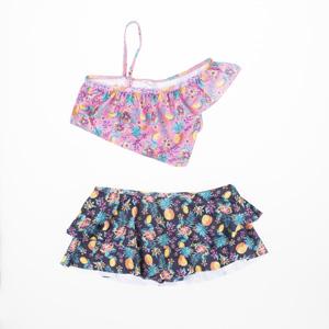 Kız Çocuk Bikini Pembe (1-12 yaş)