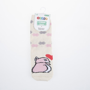 Kız Çocuk Soket Çorap Beyaz (23-34 numara)
