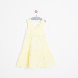 Kız Çocuk Elbise Sarı (3-12 yaş)