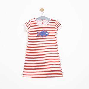 Kız Çocuk Elbise Kırmızı (3-12 yaş)
