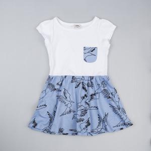 Kız Çocuk Elbise Mavi (3-12 yaş)