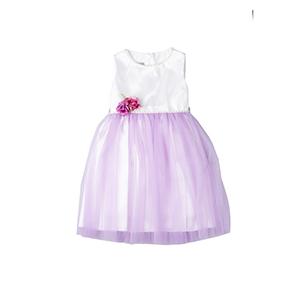 Kız Çocuk Elbise Lila (1-10 yaş)