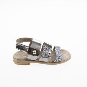 Kız Çocuk Sandalet Platin (21-30 numara)