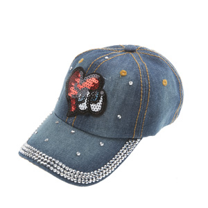 Kız Çocuk Kep Şapka Petrol (5-8 yaş)