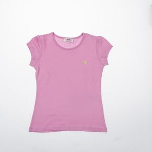 Kız Çocuk Kısa Kol Tişört Açık Pembe (3-12 yaş)