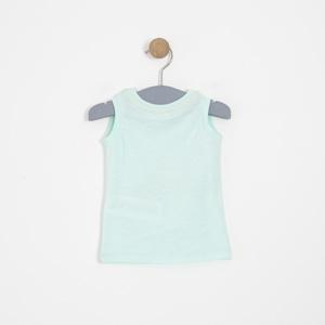 Kız Çocuk Kısa Kol Tişört Mint (3-12 yaş)