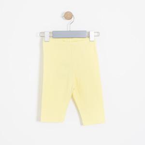 Kız Çocuk Tayt Sarı (3-12 yaş)