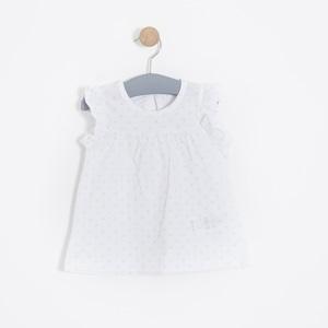 Kız Bebek Atlet Beyaz (0-2 yaş)
