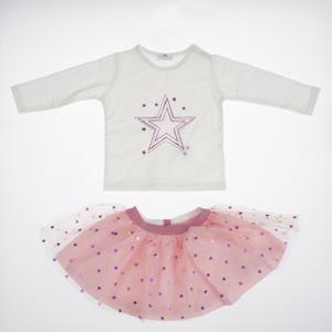 Kız Bebek Set Beyaz (0-2 yaş)