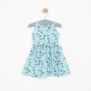 Kız Bebek Elbise Mavi (0-2 yaş)