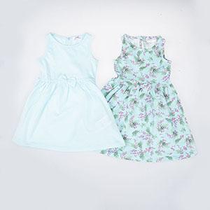 Kız Bebek Elbise Mint (0-2 yaş)