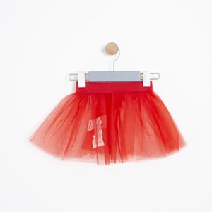 Kız Bebek Etek Kırmızı (0-2 yaş)
