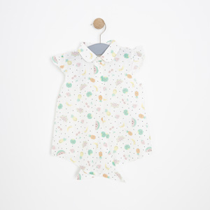 Kız Bebek Elbise Beyaz (0-2 yaş)