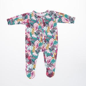 Kız Bebek Tulum Bej Melanj (0-2 yaş)