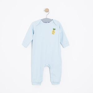Kız Bebek Tulum Mavi (56-86 cm)