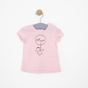 Kız Bebek Tişört Pembe (0-2 yaş)