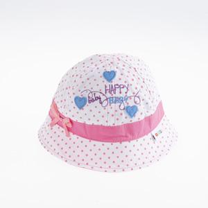 Kız Bebek Fötr Şapka Beyaz (0-18 ay)