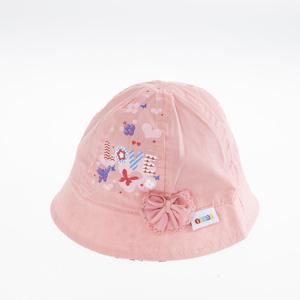 Kız Bebek Fötr Şapka Turuncu (0-18 ay)