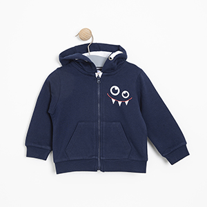 Erkek Bebek Sweatshirt Lacivert (9-24 ay)
