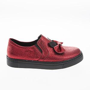 Kız Çocuk Ayakkabı Kırmızı (21-30 numara)