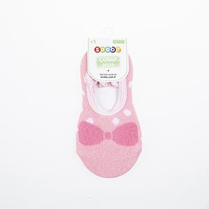 Kız Çocuk Bantlı Patik Çorap Fuşya (19-34 numara)
