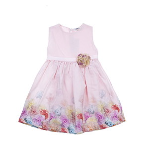 Kız Çocuk Elbise Pembe (3-7 yaş)