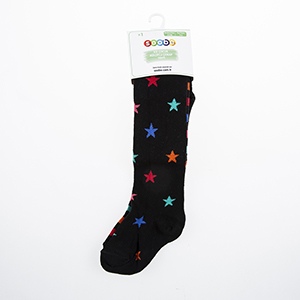 Kız Çocuk Külotlu Çorap Siyah (23-34 numara)
