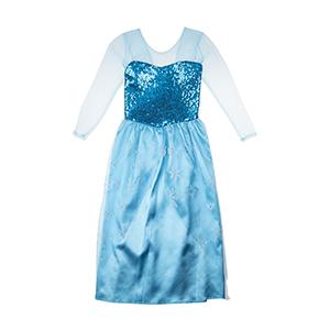 Kız Çocuk Kostüm Mavi (3-8 yaş)