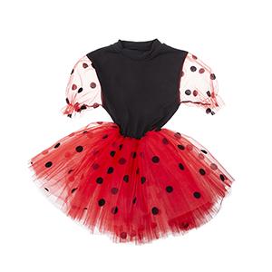 Kız Çocuk Kostüm Kırmızı (3-8 yaş)