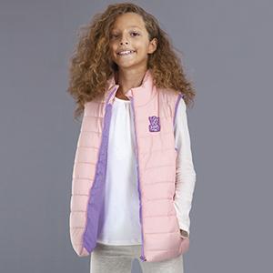 Kız Çocuk Şişme Yelek Toz Pembe (2-12 yaş)