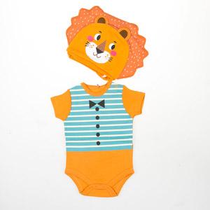 Erkek Bebek Badi-Şapka Turunu (0-2 yaş)