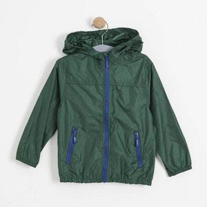 Çocuk Yağmurluk Yeşil (8-12 yaş)