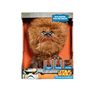 Star Wars Chewbacca 40 cm Sesli Hareketli Peluş