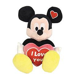 Disney Ilym - Mickey Valentine I Love You 25 cm 2+yaş Kırmızı